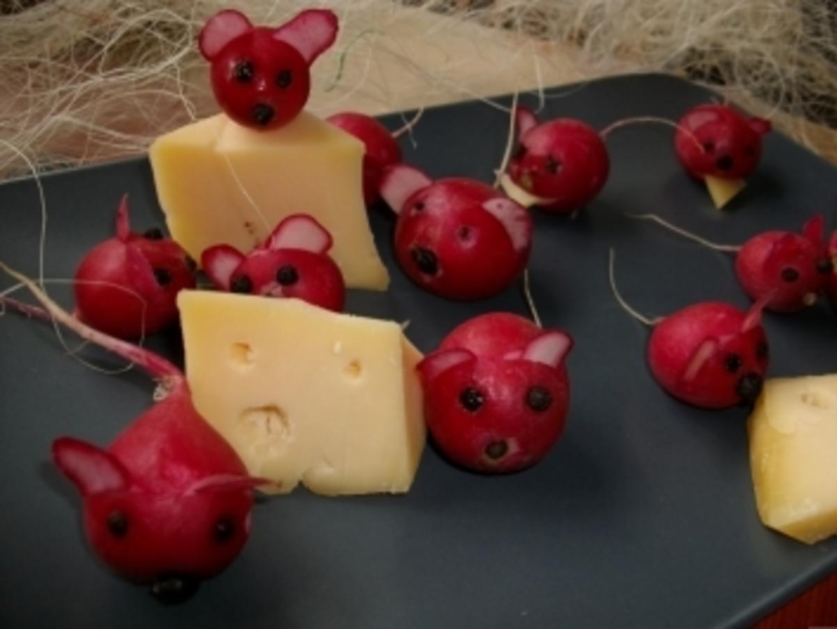 Radischen Maus - Rezept Eingereicht von bienchen1