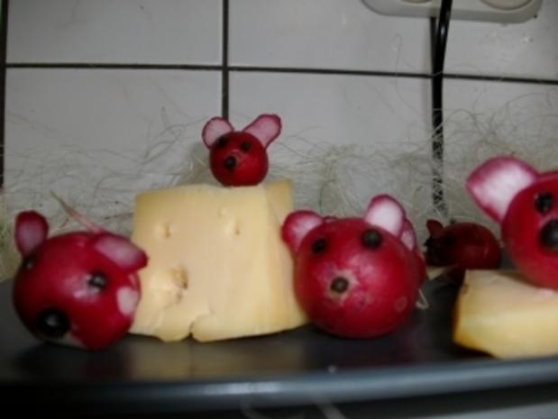 Radischen Maus - Rezept - Bild Nr. 5