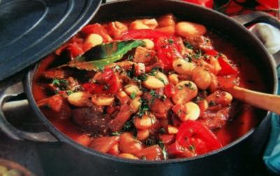 Fleisch Gemüse Schmortopf - Rezept