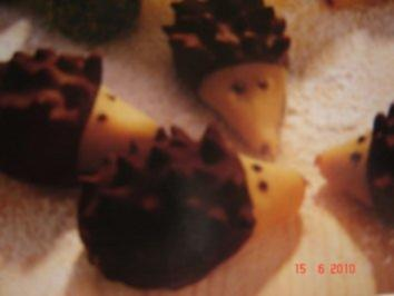 Marzipan-Igelchen - Rezept