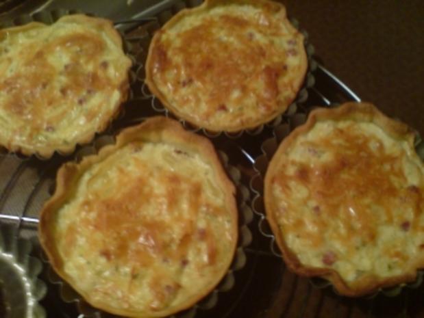 Zwiebelkuchen-Törtchen - Rezept - Bild Nr. 6