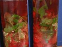 Himbeer - Kräuter - Essig - Rezept