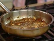 Lammlachs mit Haselnüssen, Aprikose und Portulaksalat mit Sauerampfer - Rezept - Bild Nr. 9
