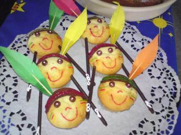 "Deko-Idee: ""Muffin-Indianer"" - Rezept"