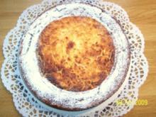 Geschnitzelte Apfeltorte mit Ahornsirup - Rezept