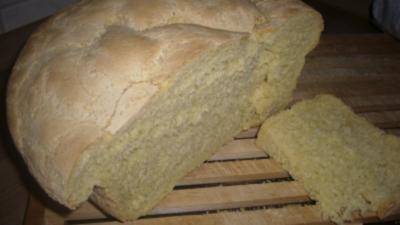 Brot --- einfaches Maisbrot - Rezept