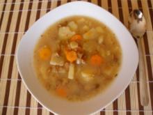 Suppe - Schwammerl - Kartoffelsuppe - Rezept