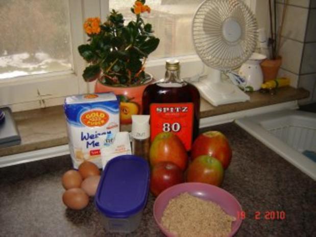 Kuchen + Torten : Russischer Apfelkuchen - Rezept - Bild Nr. 2