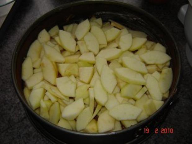 Kuchen + Torten : Russischer Apfelkuchen - Rezept - Bild Nr. 4