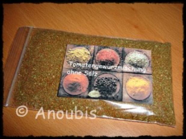 Gewürzmischung - Für Tomaten - Rezept - Bild Nr. 2