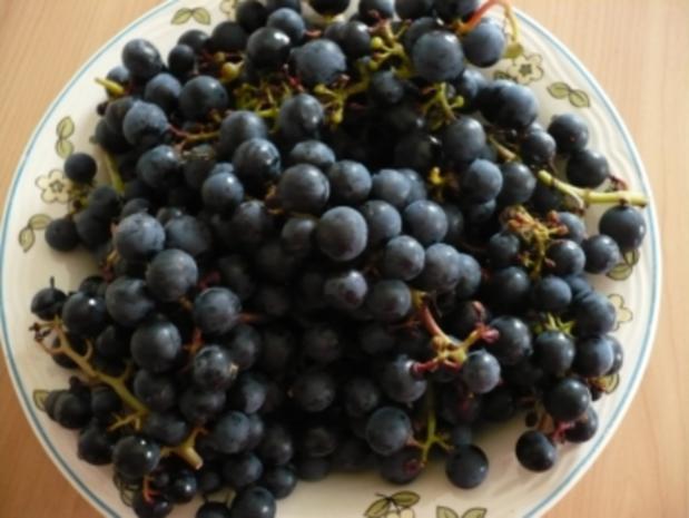 Trauben - Marmelade - Rezept - Bild Nr. 2