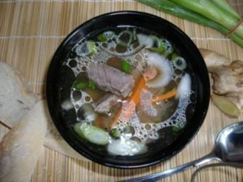 Soto-Indonesische Suppe - Rezept