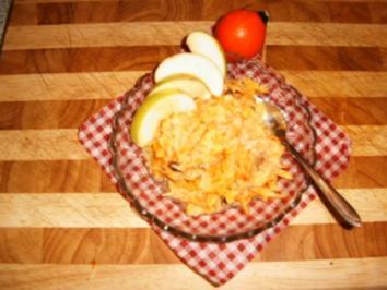 Kürbis-Apfelsalat - Rezept