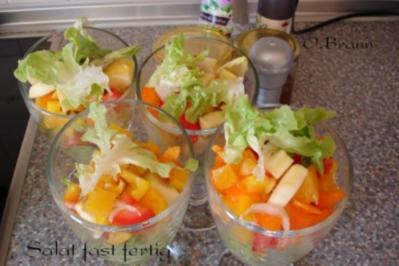 Herbstlicher Fitnesssalat - Rezept