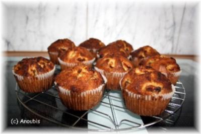 Kuchen/Gebäck - Bananen-Honig-Muffins - Rezept