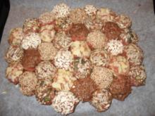 Hackfleisch-Saatenrad mit Pastinaken-Rahmkartoffeln - Rezept