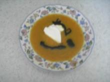 Suppen - Möhren-Ingwer-Suppe - Rezept