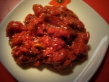 mein Bruchettina-Tomatensugo-Pesto - Rezept