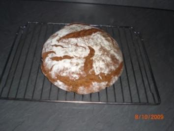 Brot-Roggenbrot - Rezept