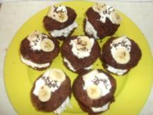 Bananensplit-Muffins - Rezept