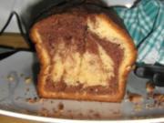 Marzipan-Mamor-Kuchen - Rezept