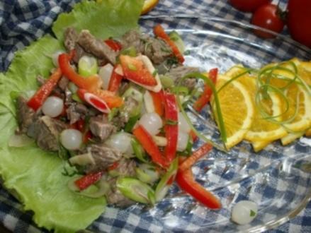 Rindfleisch Salat - Rezept