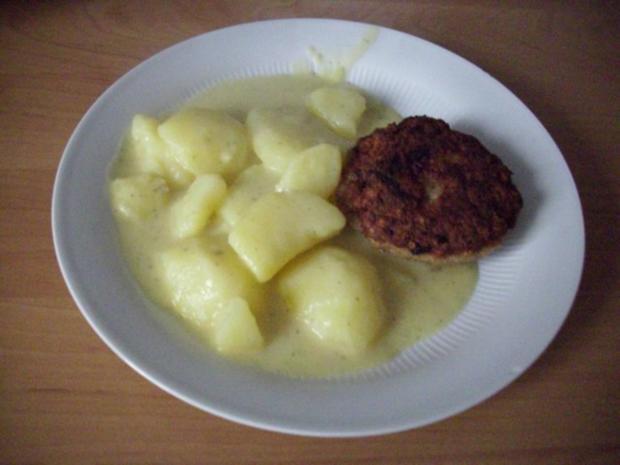 Rahmkartoffeln nach Großmutter Art - Rezept