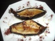 Gegrillte Honigbanane - Rezept