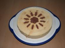 Käse Sahne Torte - Rezept