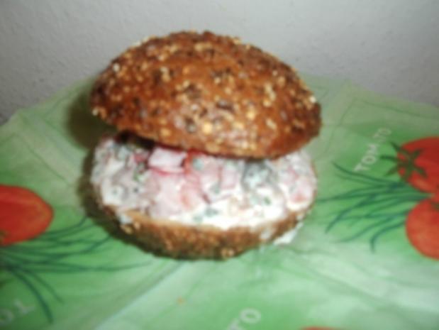 Vollkorn-Burger - Rezept