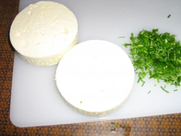Gegrillter Schafskäse auf Blattsalat - Rezept - Bild Nr. 3