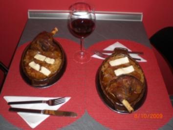 Lammstifado mit Kritharaki - Rezept