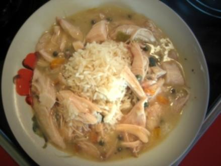 Hühnerfricassee mit Kapern - Rezept