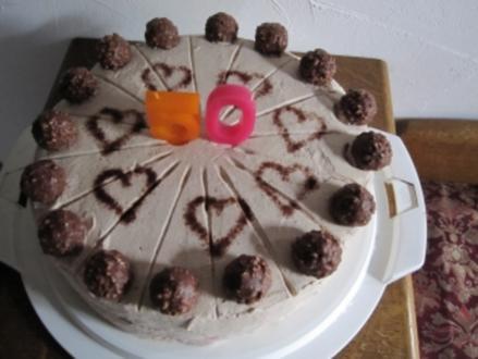 Rocher- Torte (Ferrero) - Rezept
