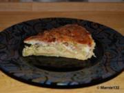 Apfel-Porree-Quiche - Rezept