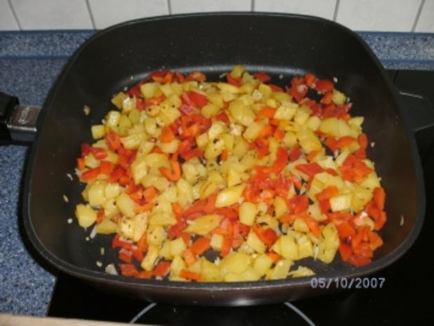 Kartoffel-Gemüse-Pfanne....es muss nicht immer mit Fleisch sein - Rezept - Bild Nr. 3