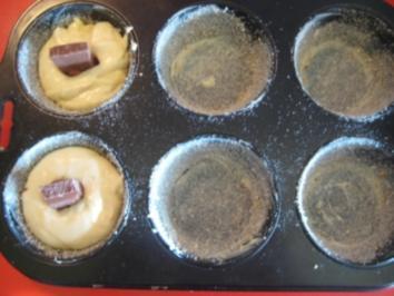 Muffin mit Schokokern und Baileys - Rezept