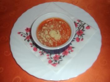Sorbet von roten Paprika - Rezept