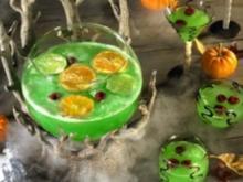 Halloween-Grüner Punsch - Rezept