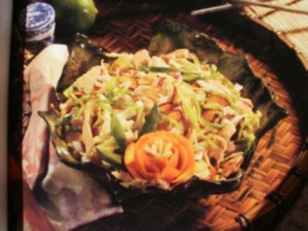 Vietnamese Chicken Salad - Rezept
