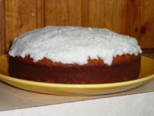 Zitronen-Kokos-Kuchen - Rezept