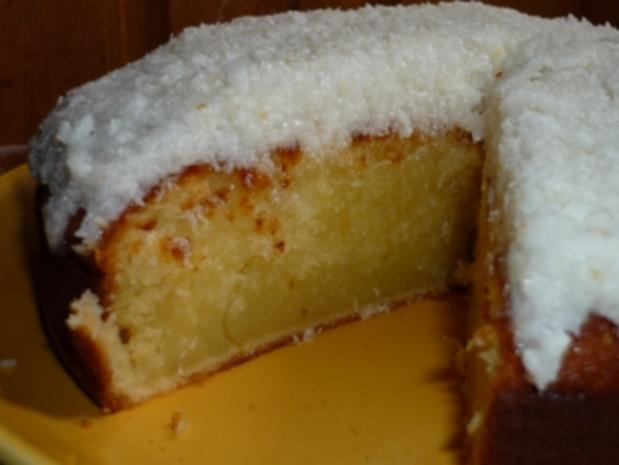Zitronen-Kokos-Kuchen - Rezept - Bild Nr. 2