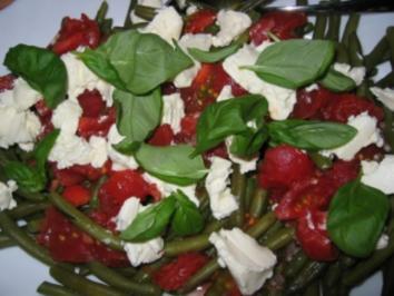 Bohnensalat  ala Binchen - Rezept