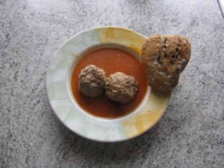 Mexikanische Tomatensuppe - Rezept
