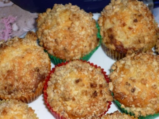 Mandelmuffins - Rezept