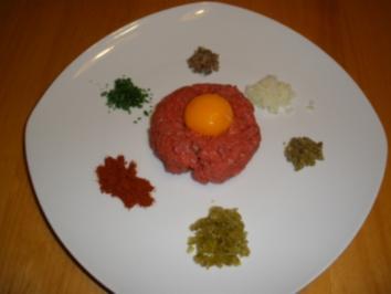 Beefsteak a´la tartare - Rezept