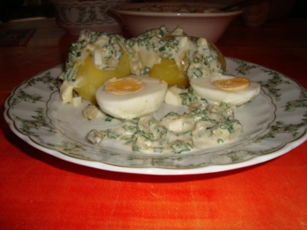 Eier in einer leckeren Kräutersauce - Rezept - Bild Nr. 2