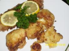 Fisch: Knuspriger Rotbarsch mit Blumenkohltempura - Rezept