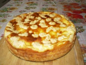 Streusel Quarkkuchen - Rezept