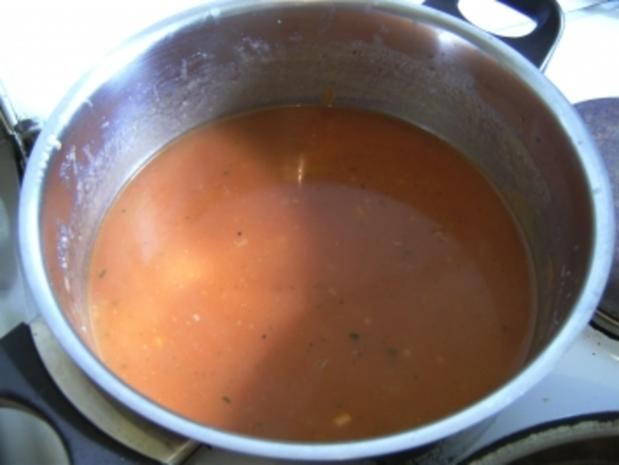 HAUPTGERICHT - Spirelli mit Tomatensoße und Jägerschnitzel - Rezept - Bild Nr. 4